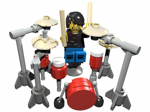 Lego Dave Grohl