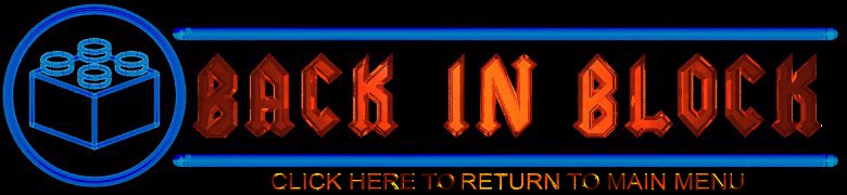 Banner Orange & Blue on Black
