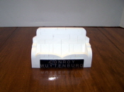 Front of Business Card Holder