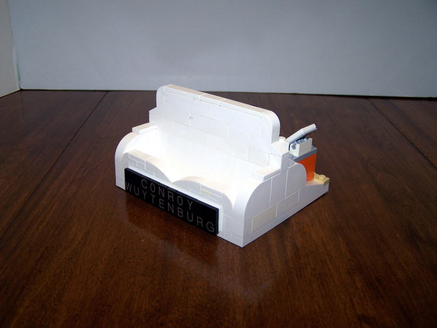 Side of Business Card Holder