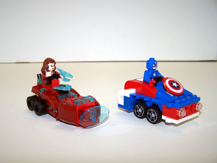 Avengor Scarlet Witch Mobile And Captain America Mobile