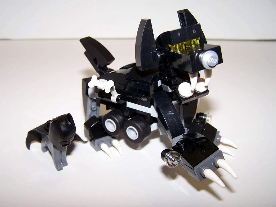 Bathound-mobile Robot Attack Dog Mode With Ace The Bathound View