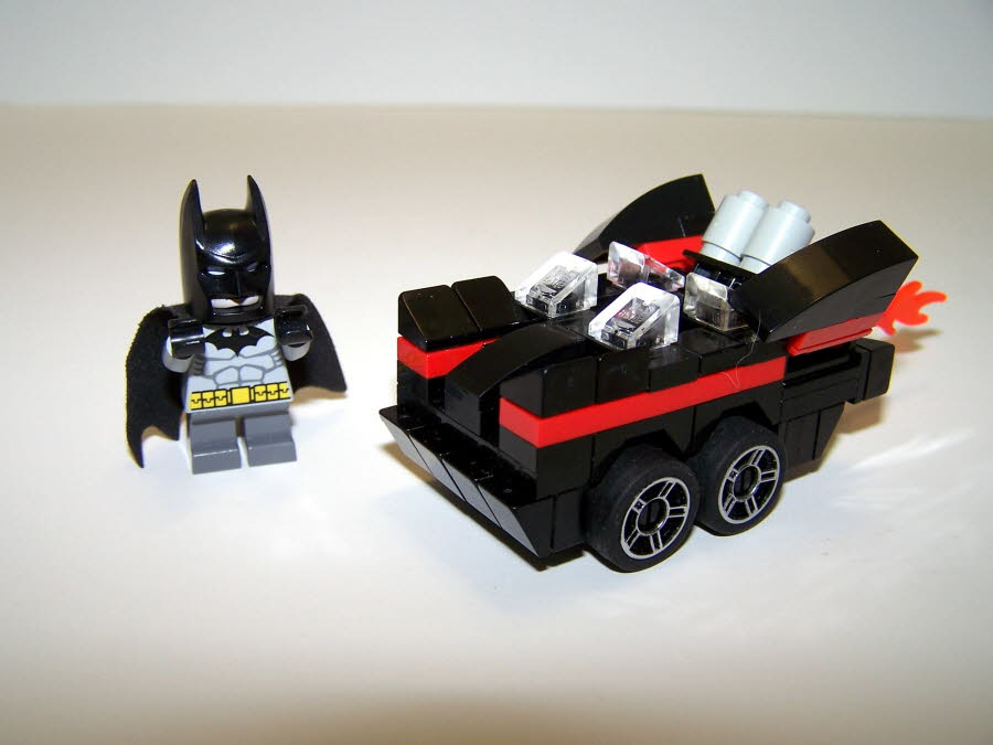 Batmobile Mighty Micro Side