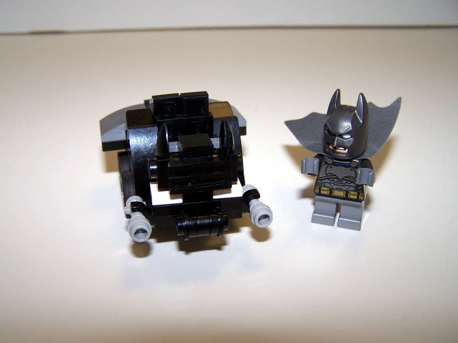 Dark Knight Returns Batmobile Mighty Micro Front
