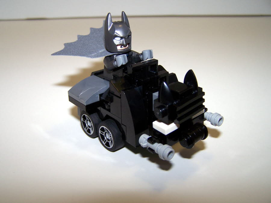 Dark Knight Returns Batmobile Mighty Micro