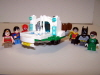 Hall Of Justice Mobile Mighty Micro Front With Super Friends