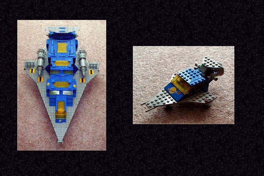 Front View, Mini Ship